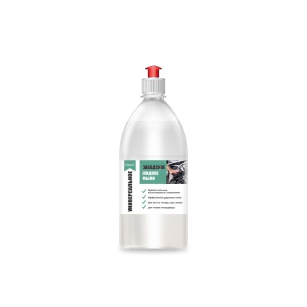 Заводское жидкое мыло 1л